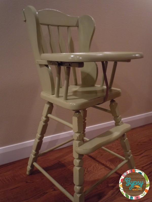 Vintage High Chair {Gypsy Magpie}