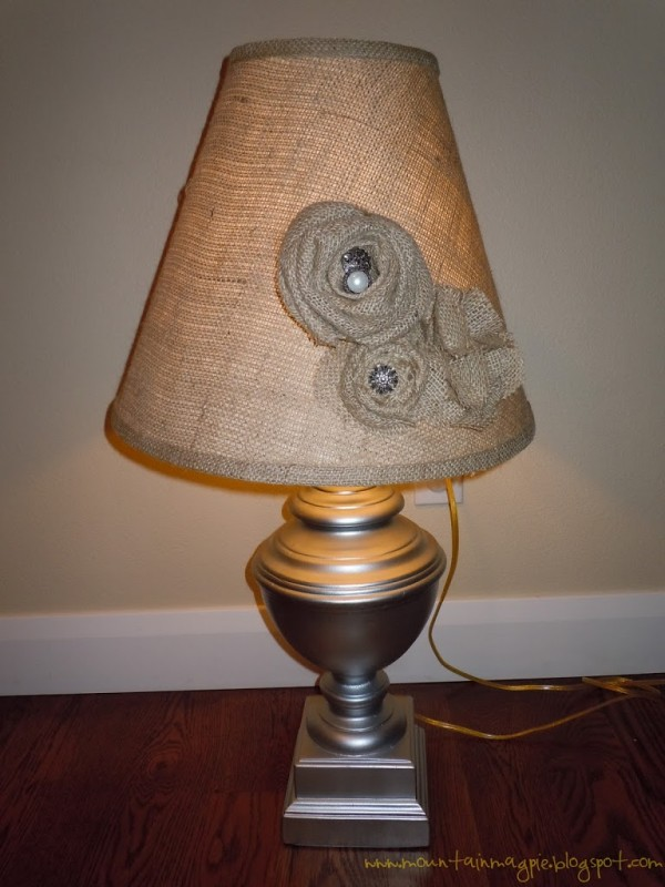 DIY Lamp Makeover {Gypsy Magpie}