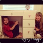Childhood Desk with Fun New Knobs