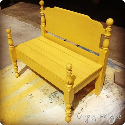 Repenting Bench {Gypsy Magpie}