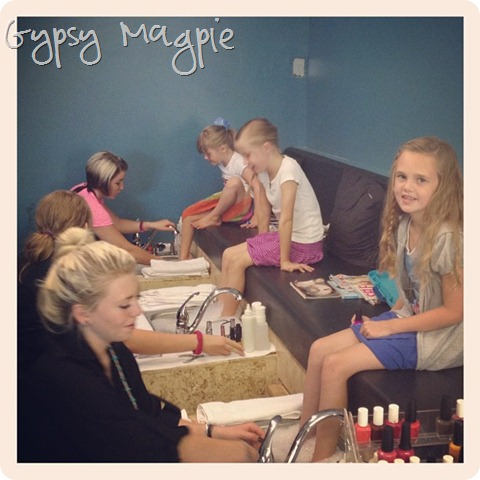 Pedicures for August One {Gypsy Magpie}