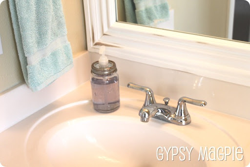 How to make a mason jar soap dispenser {Gypsy Magpie}
