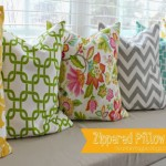 Zippered Pillow Covers {Gypsy Magpie}