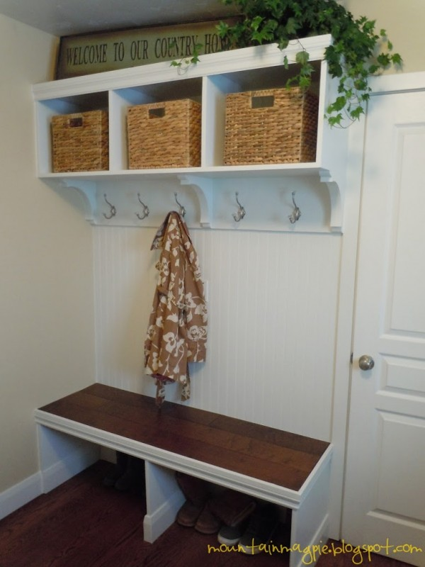 DIY Mudroom by Gypsy Magpie