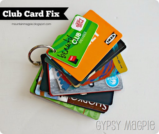 Easy Club Card Fix {Gypsy Magpie}