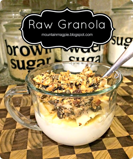 Easy Raw Granola by Gypsy Magpie