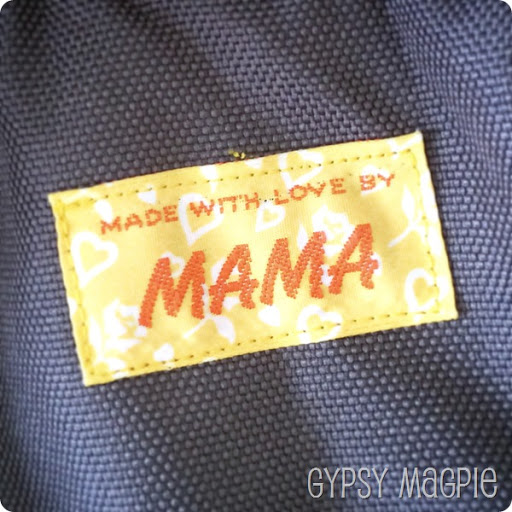 Made with Love by Mama Patch & Adventure Bags {Gypsy Magpie}
