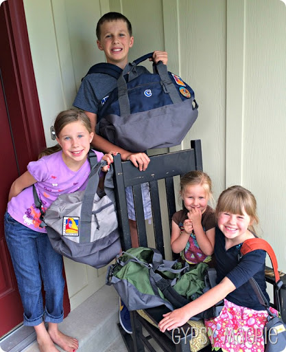 My Magpie's and their Adventure Bags {Gypsy Magpie}