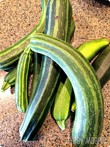 How to Freeze Zucchini {Gypsy Magpie}