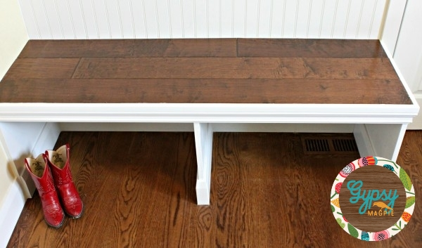 DIY Bench {Gypsy Magpie}