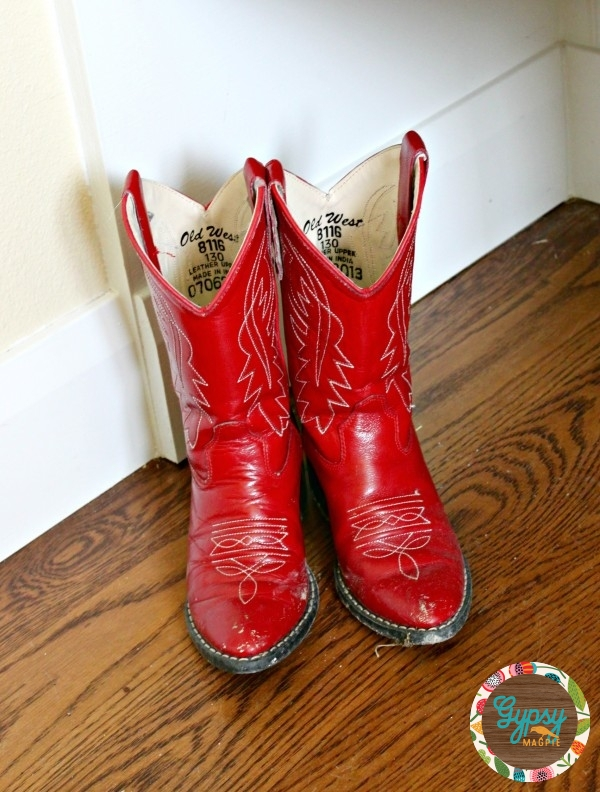 Shiny Red Boots {Gypsy Magpie}