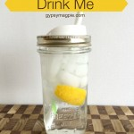 Simple trick for tackling the gallon a day water challenge {Gypsy Magpie}