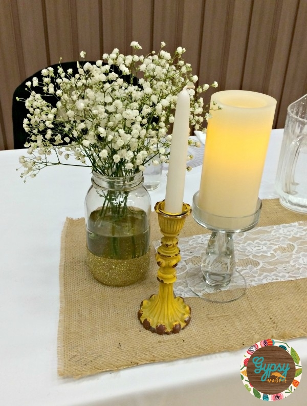 Simple Vintage Inspired Wedding Luncheon {Gypsy Magpie}