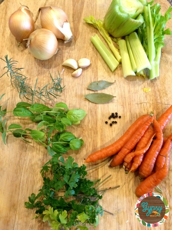 How to make a Nourishing Homemade Chicken Stock like Granny used to. You can do it! {Gypsy Magpie}