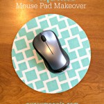5 Minute Mouse Pad Makeover {Gypsy Magpie}