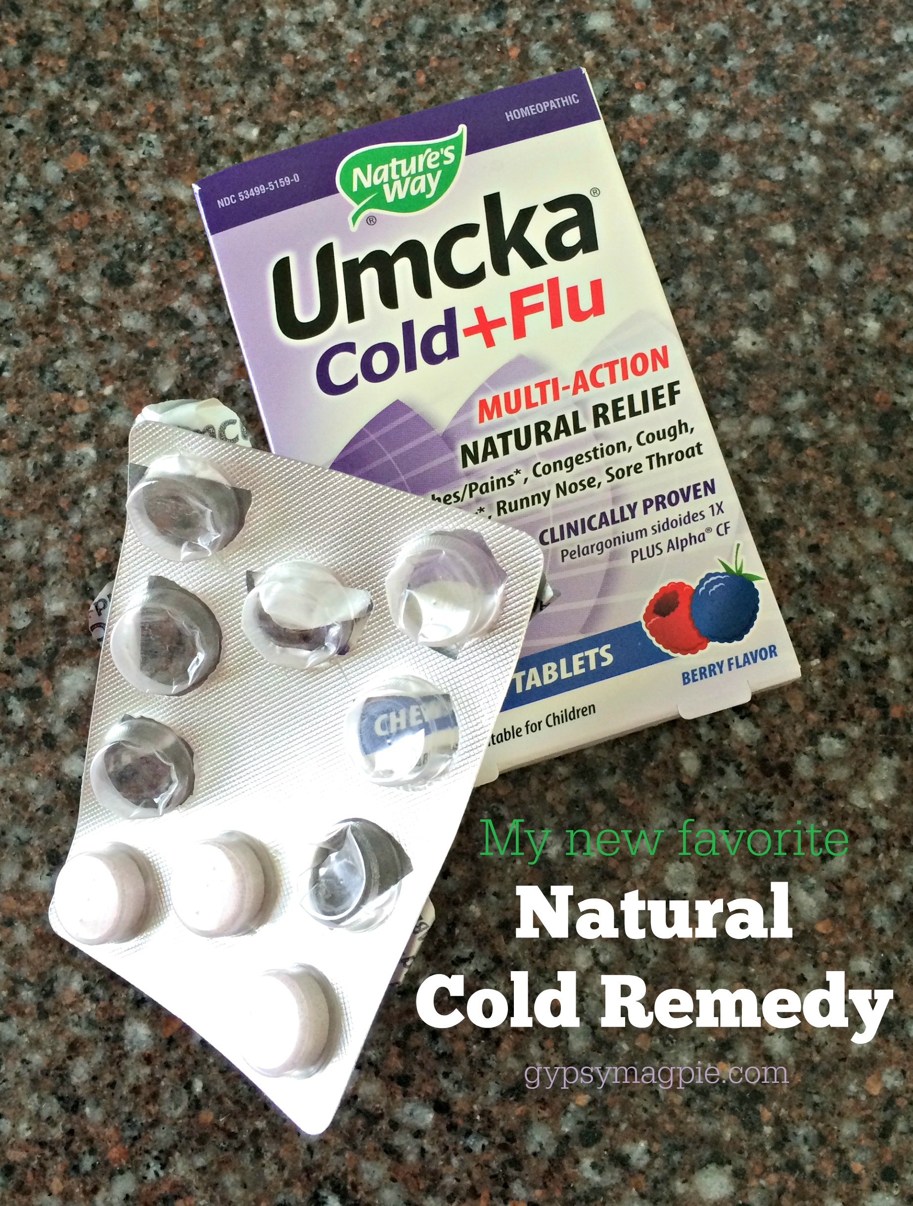 Umcka, my new favorite natural cold/flu remedy {Gypsy Magpie}
