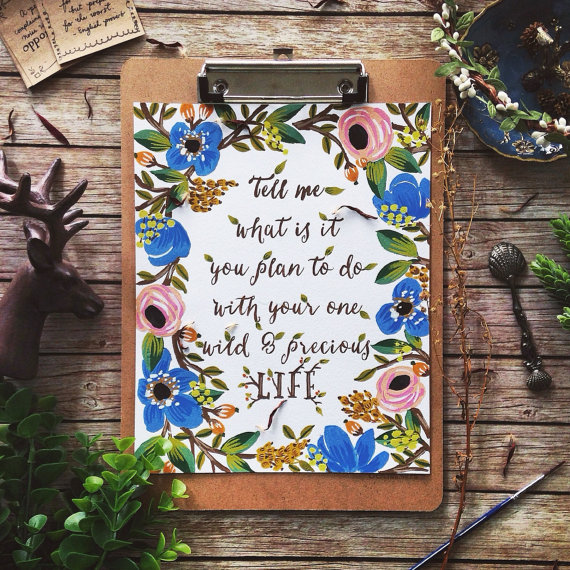 Tears, Planning, and Big Dreams {Gypsy Magpie} with beautiful image by Seedling Paperie on Etsy and Instagram, go check her out!