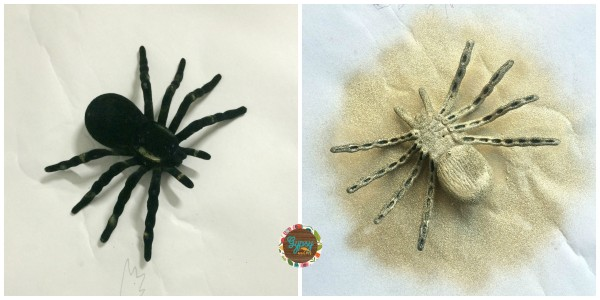 A cute DIY Spider Halloween Wreath that isn't too scary {Gypsy Magpie}