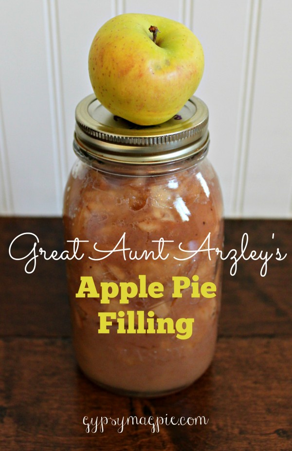 Great Aunt Arzley's Apple Pie Filling