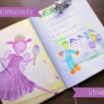 Simple, inexpensive DIY gratitude journals for kids {Gypsy Magpie}