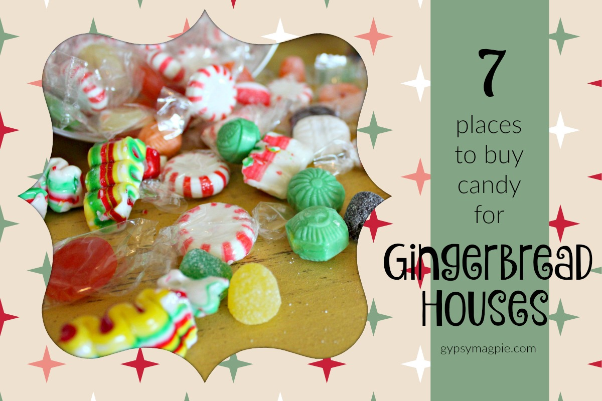 7 Places to Buy Candy for Homemade Gingerbread Houses | Gypsy Magpie