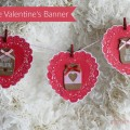 How to make an easy 5 minute banner to update a plain wreath for Valentine's Day   Gypsy Magpie