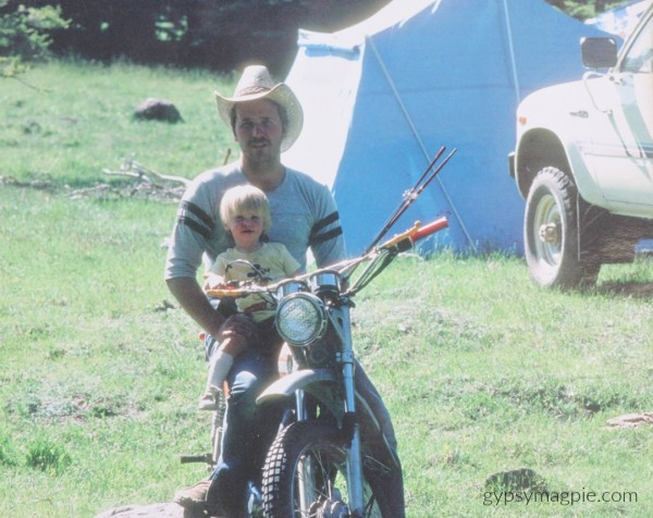 Boulder Mountain and Dad's Bike... A letter to fathers on International Women's Day | Gypsy Magpie