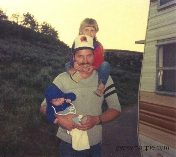 Boulder Mtn with Dad... A letter to fathers on International Women's Day | Gypsy Magpie