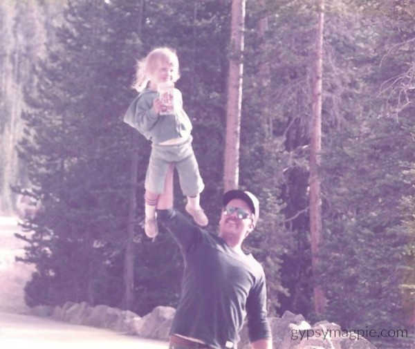 Daddy and His Simba... A letter to fathers on International Women's Day | Gypsy Magpie