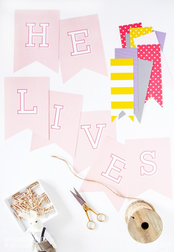 Free Printable Easter Decor from Paging Supermom