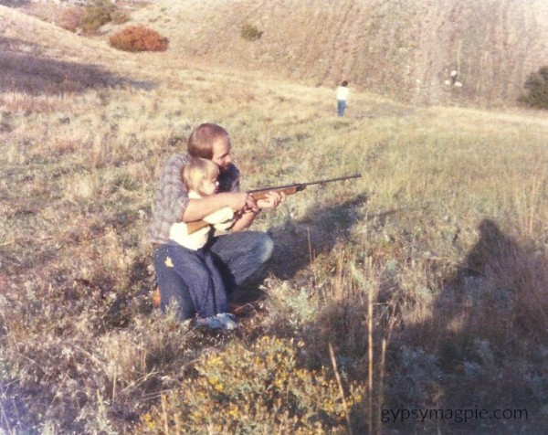 Shooting the BB Gun... A letter to fathers on International Women's Day | Gypsy Magpie