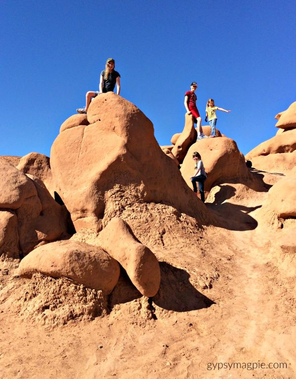 Exploring the Hoodoos in Goblin Valley | Gypsy Magpie