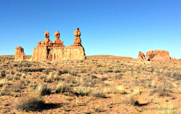 The Three Sisters at Goblin Valley State Park | Gypsy Magpie