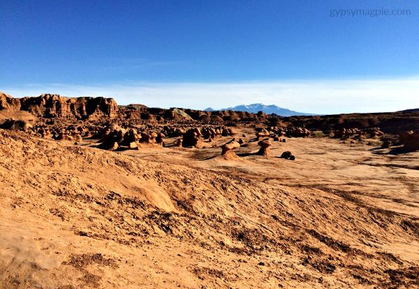 Looking out over Goblin Valley State Park | Gypsy Magpie