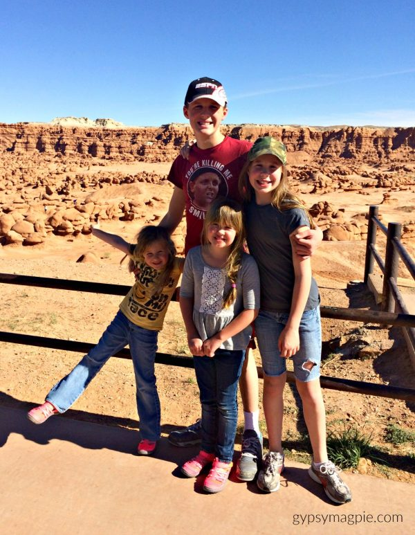 Looking for a low key family road trip? Visit Goblin Valley! | Gypsy Magpie