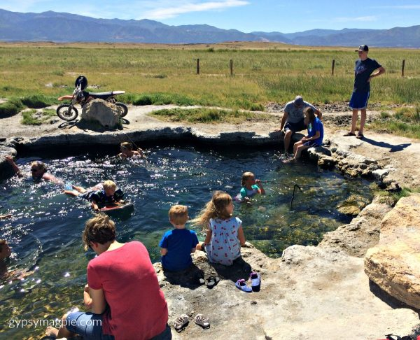 Family Fun at the Meadow Hot Springs | Gypsy Magpie