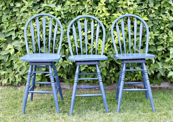 A bit of navy paint can change everything | Gypsy Magpie