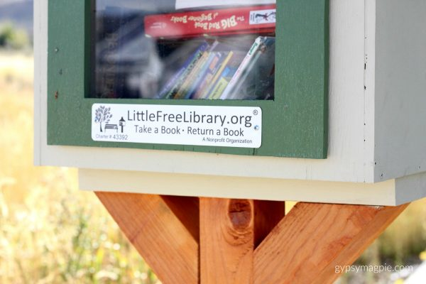 Little Free Library | Gypsy Magpie
