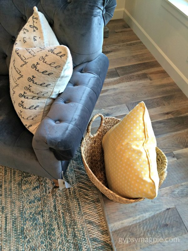 Muted colors and accessories at the Utah County Parade of Homes | Gypsy Magpie