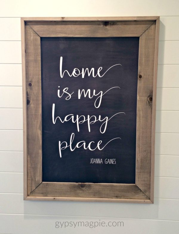Home is my happy place -Joanna Gaines | Gypsy Magpie