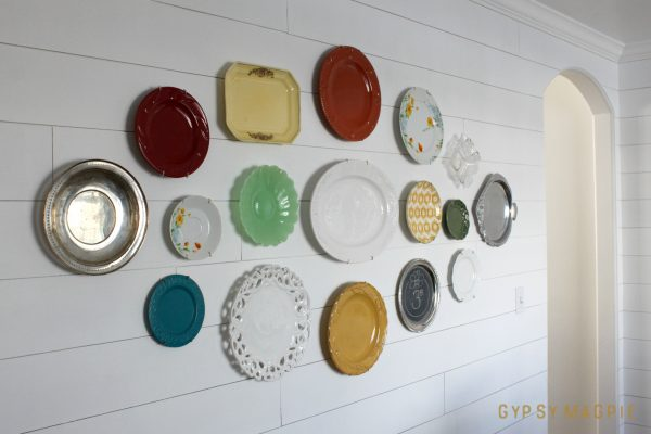 Family History Plate Wall | Gypsy Magpie
