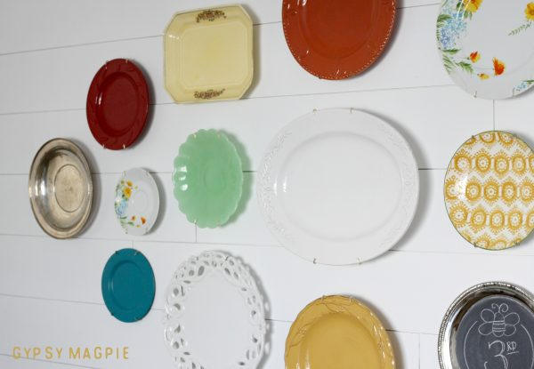 Objects have stories too! This family history plate wall is full of them! | Gypsy Magpie