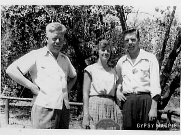 Jack, Gloria, and Bob Griffiths, shortly before the Korean War | Gypsy Magpie