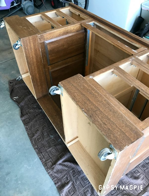 This old shop desk needed a makeover. Come see the after! | Gypsy Magpie