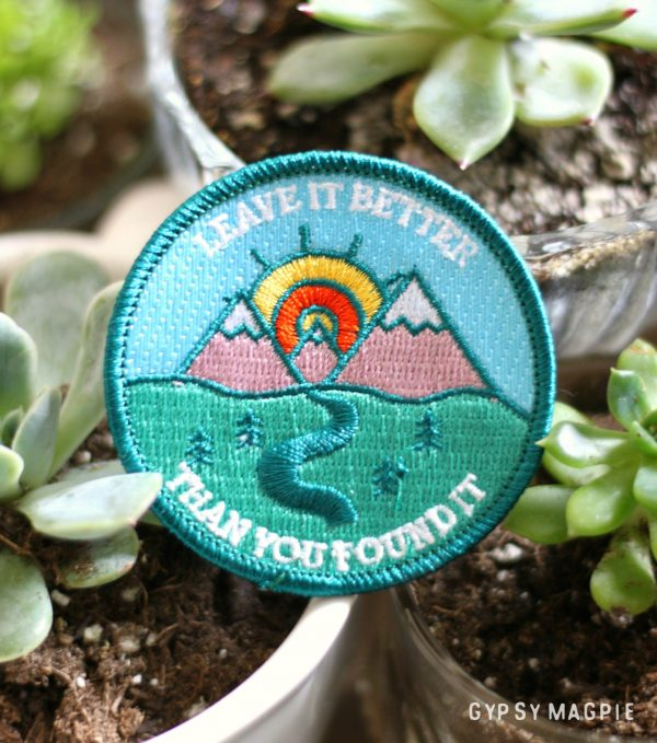 Leave it better than you found it Adventure Code patch | Gypsy Magpie