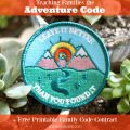 Teaching families the Adventure Code + free printable family code contract! | Gypsy Magpie