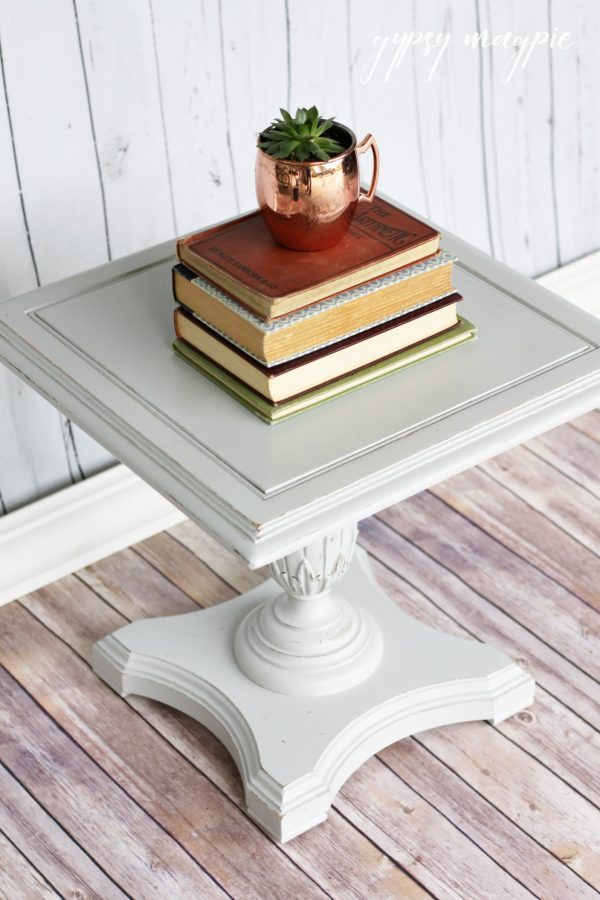 Seagull Gray Side Table | Gypsy Magpie