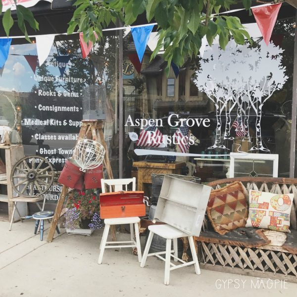Check out my consignment goodies over at Aspen Grove Rustics in Heber City! | Gypsy Magpie