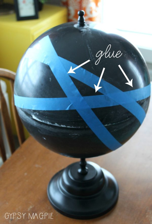 Wait until you see the after of this broken globe! | Gypsy Magpie