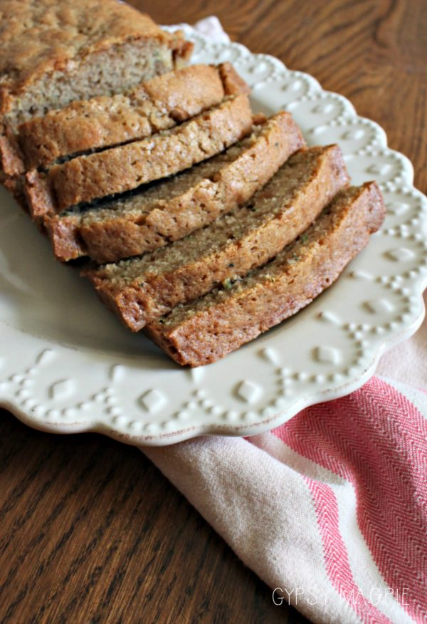 My great grandma's recipe for zucchini bread. This is a keeper. | Gypsy Magpie